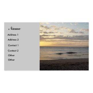 Maui Hawaii - tarjeta de visita