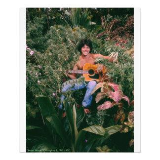 Maui Hawaii weed Sweet Bud Music Photo Print