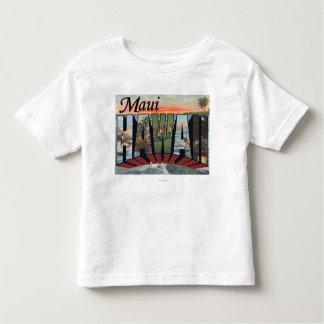 Maui, HawaiiLarge Letter ScenesMaui, HI Toddler T-shirt