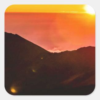 Maui Hi Beach Sunset 2014 Sticker