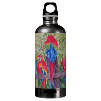 Maui Macaws Water Bottle