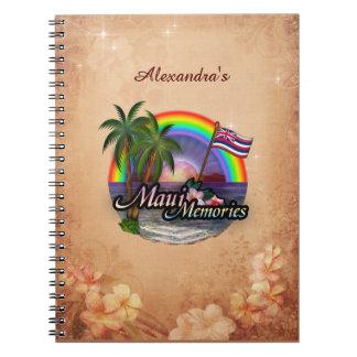 Maui Memories (customizable) Notebook