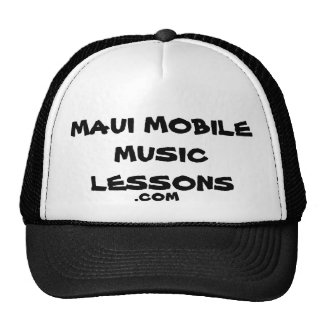 Maui Mobile Music Lessons .com Trucker Hat
