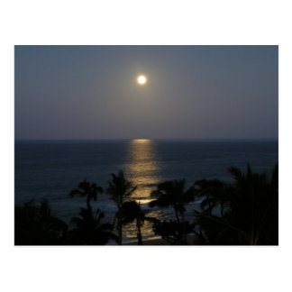 Maui Moonrise Full Moon Postcard