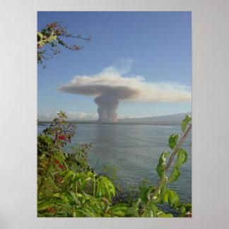 Maui Mushroom Cloud Posters