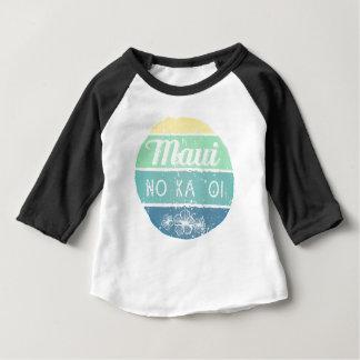 Maui No Ka Oi Vintage Typography Baby T-Shirt
