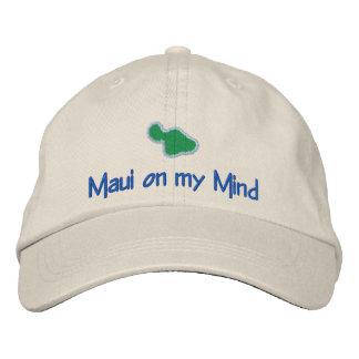 MAUI  on my mind Embroidered Baseball Cap
