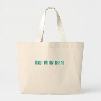 Maui On My Mind Tote Bags
