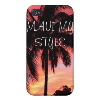 Maui Palm tree Cases For iPhone 4