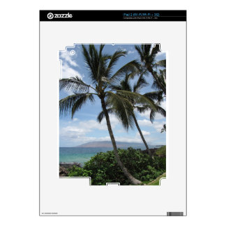 Maui Palm Trees Decals For The iPad 2