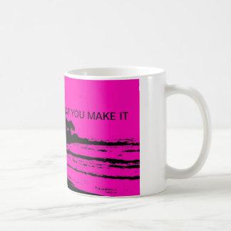 MAUI PINK MORNING COFFEE MUG