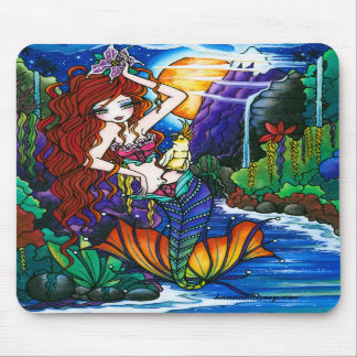 Maui Princess Mermaid Cockatoo Fairy Mouse Pads