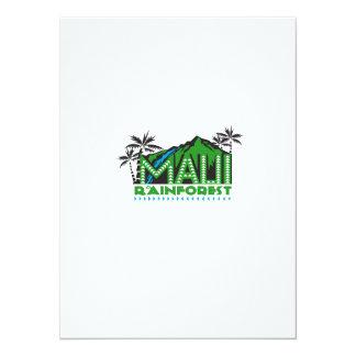 Maui Rainforest Retro Card