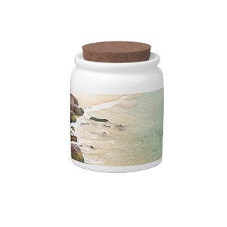 Maui Shores Candy Jar