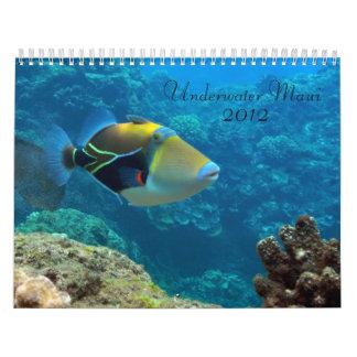 Maui subacuático calendario