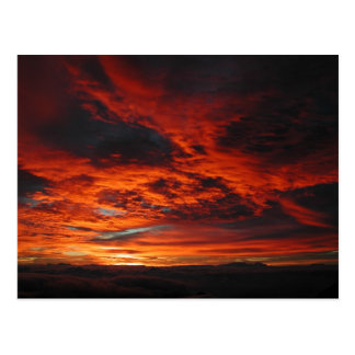 Maui Sunrise Mt Haleakala Postcard