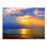 MAUI SUNSET 1 POST CARD