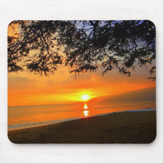 Maui Sunset Beach Mousepad