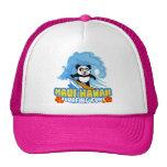 Maui Surfing Panda Trucker Hat