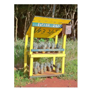 Maui Sweet Pineapple Stand Postcard