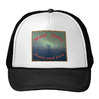 Maui Tales.Peace and Love Trucker Hats