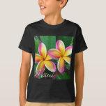 Maui Tropical Plumeria Flowers T-Shirt