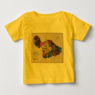 Maui - Vintage Antiquarian Hawaii Survey Map, 1885 Baby T-Shirt