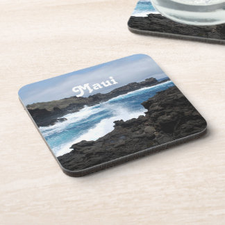 Maui Waves Crashing Coasters
