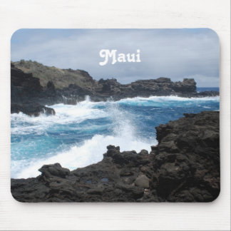 Maui Waves Crashing Mousepads
