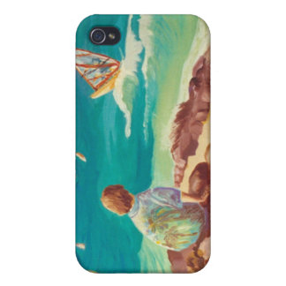 Maui Wind Surfing Cover For iPhone 4