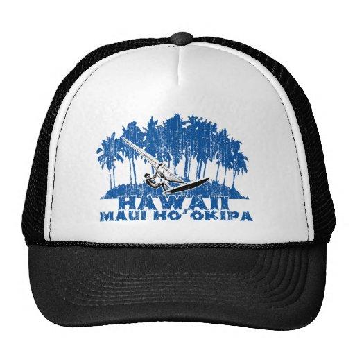 Maui windsurf trucker hat