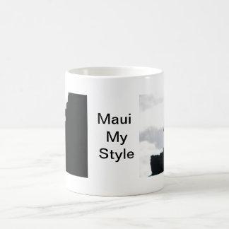 Maui wolf rock mug