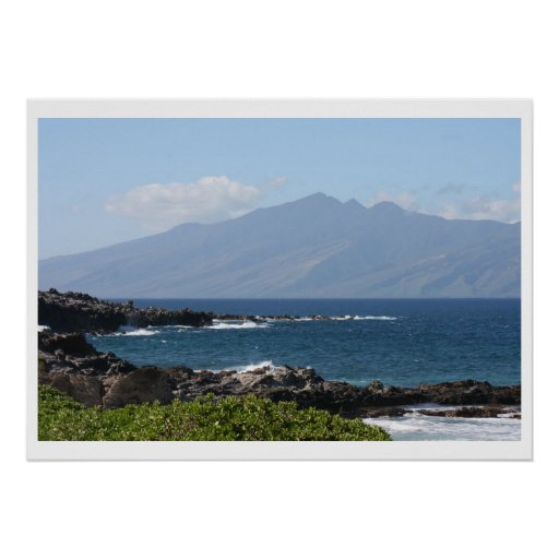Maui y Molokai Póster