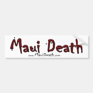 MauiDeath COD Clan Team Car Bumper Sticker