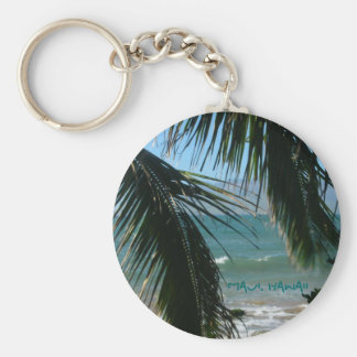 Maui's Tropical Beauty Keychain