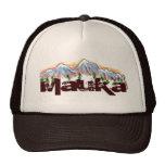 Mauka hacia el gorra del hawaiian de las montañas