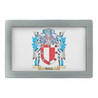 Maul Coat of Arms - Family Crest Rectangular Belt Buckles