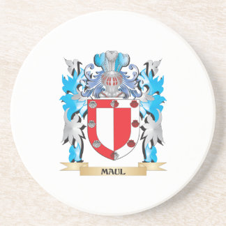 Maul Coat of Arms - Family Crest Drink Coaster