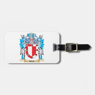 Maul Coat of Arms - Family Crest Tag For Bags