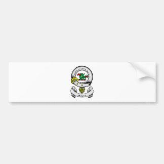 MAULE Coat of Arms Car Bumper Sticker
