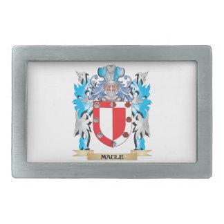 Maule Coat of Arms - Family Crest Rectangular Belt Buckles