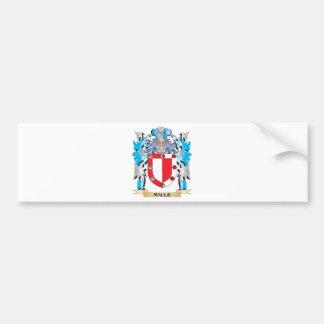 Maule Coat of Arms - Family Crest Car Bumper Sticker