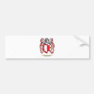 Maule Coat of Arms (Family Crest) Car Bumper Sticker