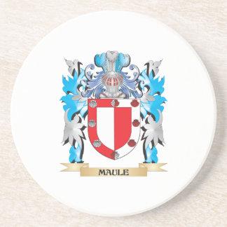 Maule Coat of Arms - Family Crest Coaster