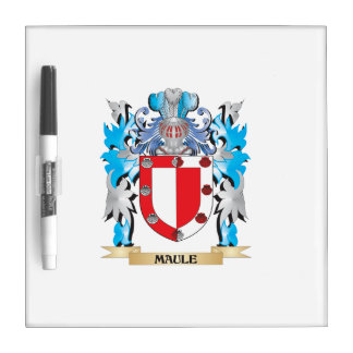 Maule Coat of Arms - Family Crest Dry-Erase Boards