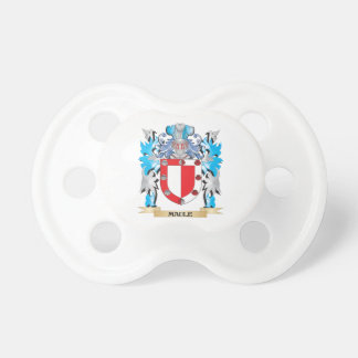 Maule Coat of Arms - Family Crest Baby Pacifiers