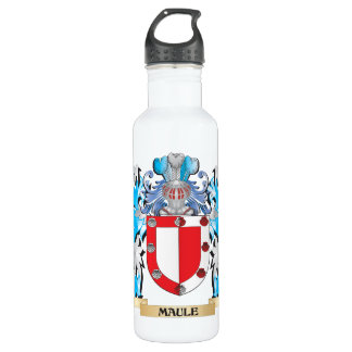 Maule Coat of Arms - Family Crest 24oz Water Bottle