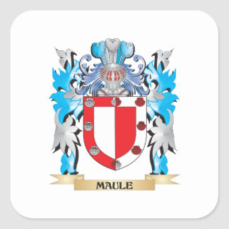 Maule Coat of Arms - Family Crest Stickers