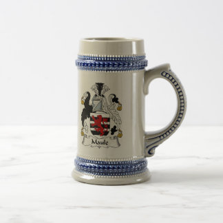 Maule Coat of Arms Stein - Family Crest Coffee Mug