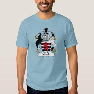 Maule Family Crest T Shirt